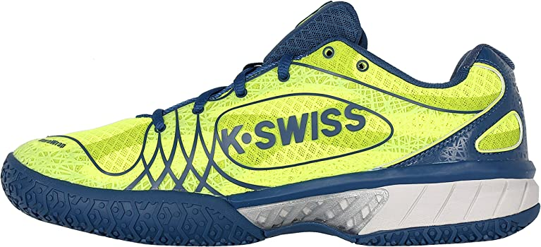 K-Swiss Ultra-Express Omni N Zapatillas, Hombre, Amarillo/Azul, 39 ...