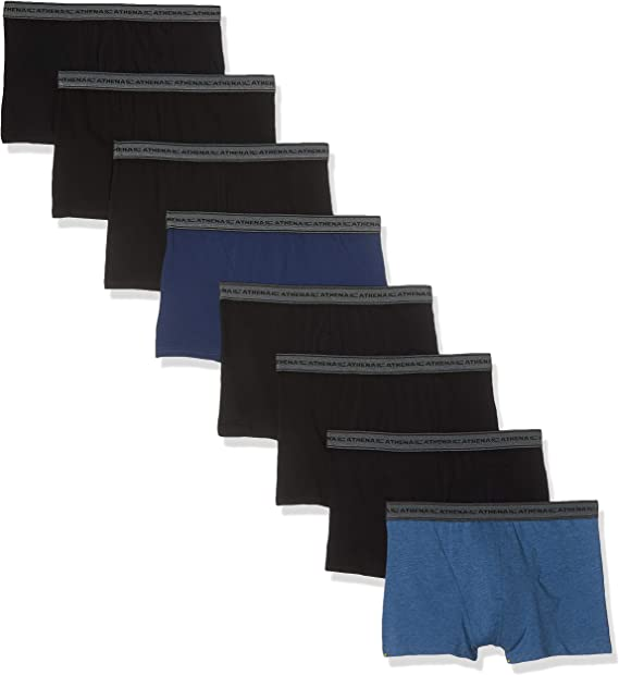 Athena Promo Maxi Lots X-Large Homme Mini Prix Multicolore Taille Fabricant:5 Lots de 8 Slips Basic Coton