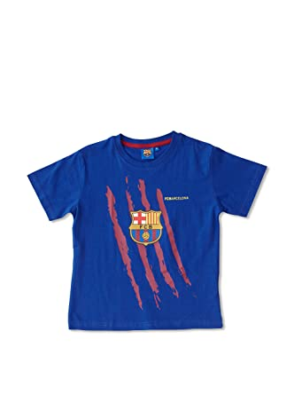 FCB F.C.Barcelona Camiseta Azul Marino/Granate 6 años (116 cm ...