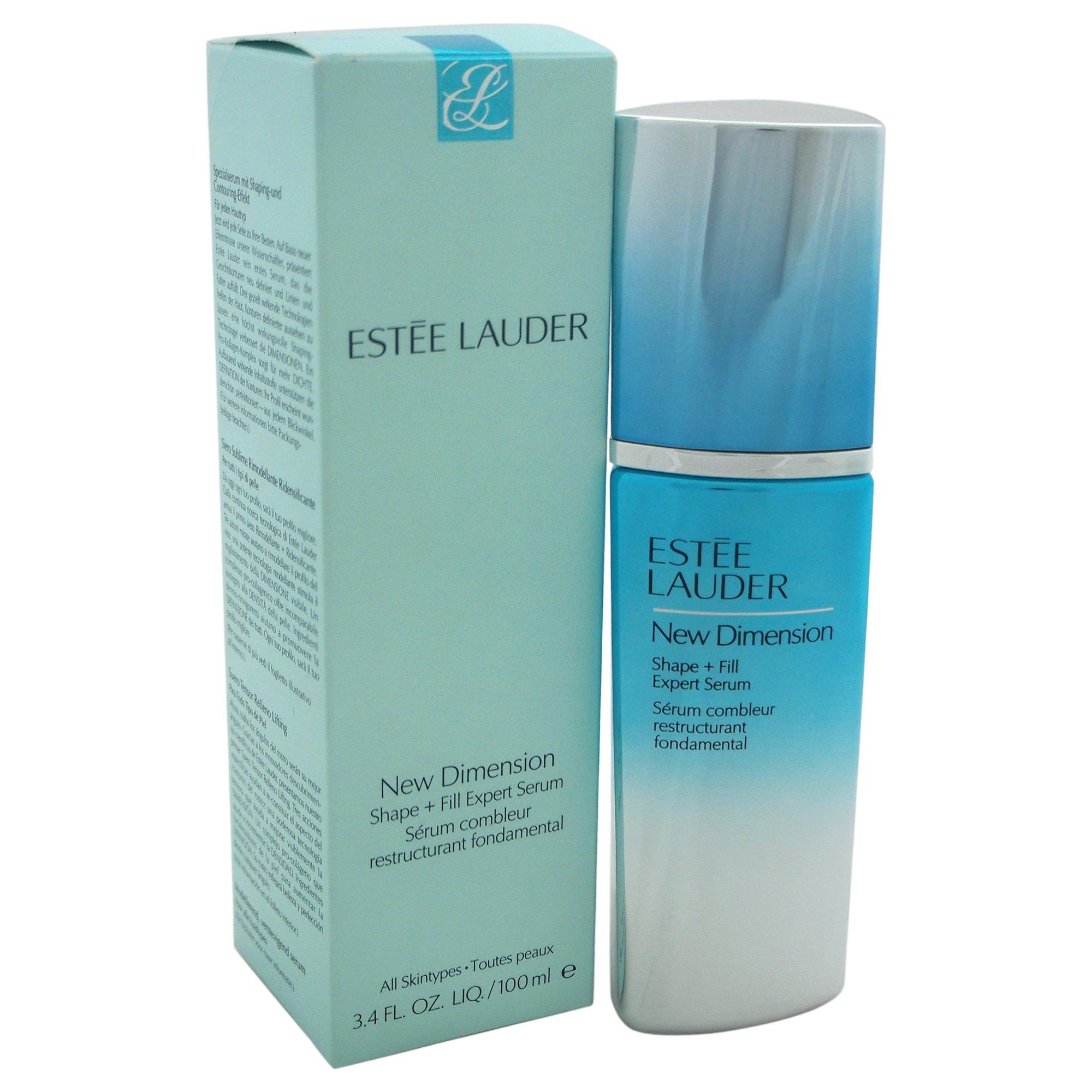 Estee Lauder Women's New Dimension Shape + Fill Expert Serum, All Skin Types, 3.4 Ounce
