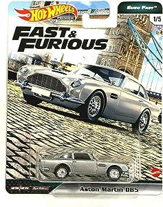DieCast Hotwheels Fast & Furious Euro Fast 1/5 Aston Martin DB5 (Silver)