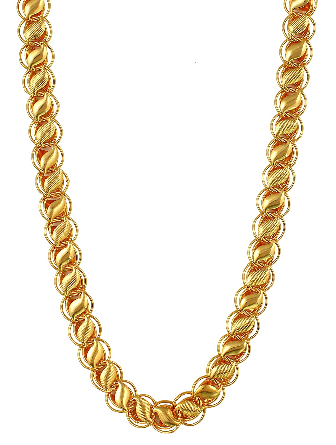 Charms Handmade Gold Plated Chain For Boys & Men: Amazon.in: Jewellery