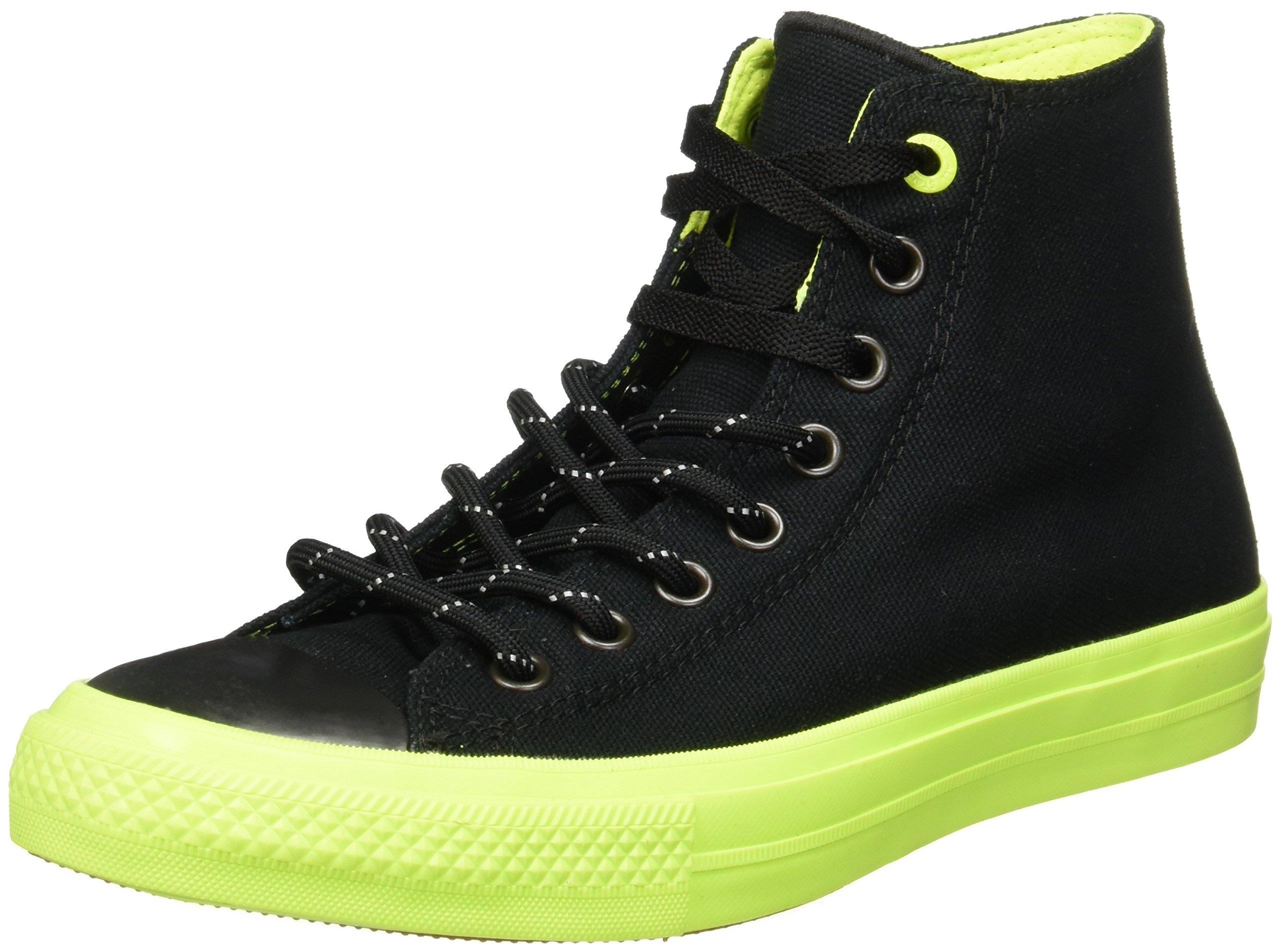 834ca44777b8 Galleon - Converse Chuck Taylor All Star II Shield Canvas Hi Black Volt Gum  Lace Up Casual Shoes 9 D(M) US Men Black Volt Gum