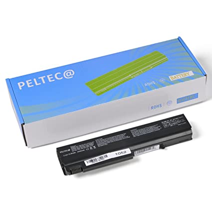 Peltec@ Batería premium para ordenador portátil HP Compaq, series 6715b, 6715s, 6910p, nx6325, nc6220, nc6120, nx6110, ...