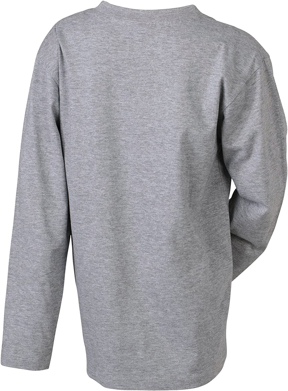 JAMES /& NICHOLSON Langarmshirt Medium Pull De Sport Gar/çon