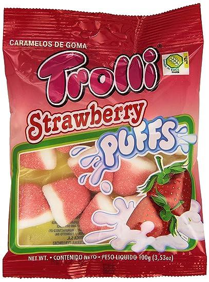 Gominolas Trolli 100 gr - Pack de 12 bolsas (Besos de fresa ...