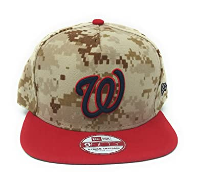uk availability 8641a b470e ... reduced new era marine digital camo snapback hat cap washington  nationals at amazon mens clothing store