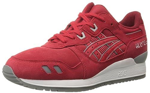 Asics Gel Lyte III, black red: Amazon.co.uk: Shoes & Bags