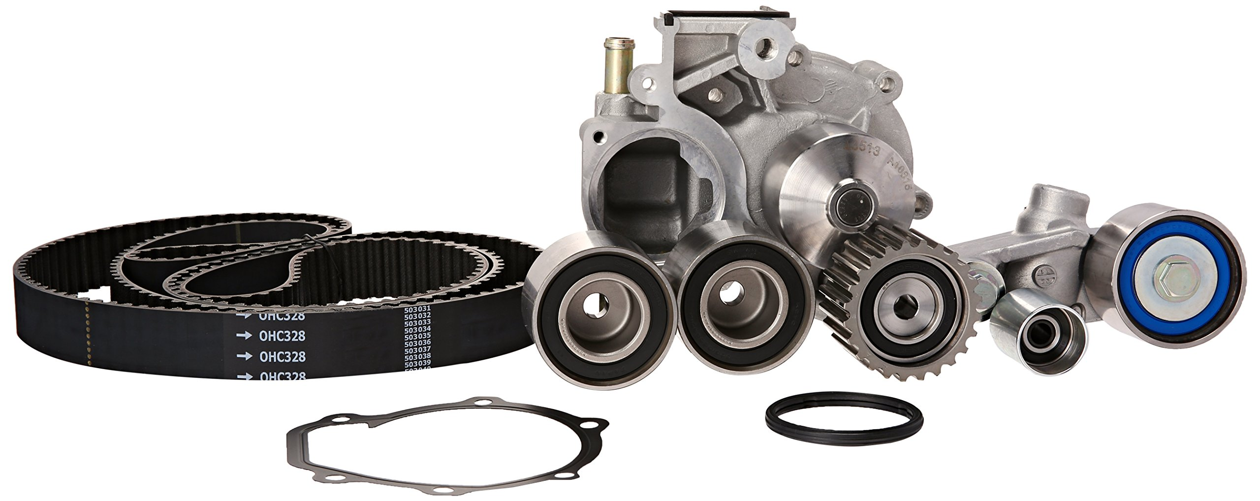 Gates TCKWP328A Engine Timing Belt Kit with Water Pump by Gates