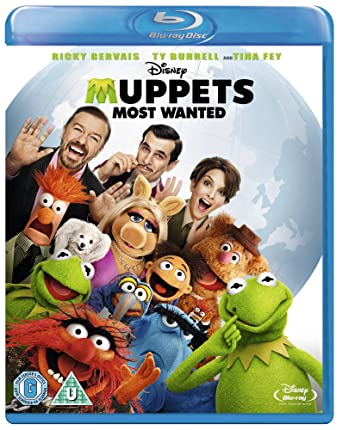 Muppets Most Wanted [Blu-ray]: Amazon co uk: Ricky Gervais