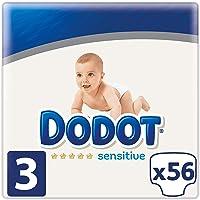 Dodot Sensitive Pañales Talla 3 - 56 Pañales