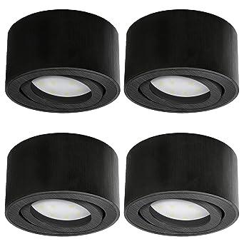 Lampen Symbol Der Marke Aufbau Spotleuchte Rund Strahler Deckenleuchte Gu10 5w Led Leuchtmittel 230v Neueste Technik Büromöbel