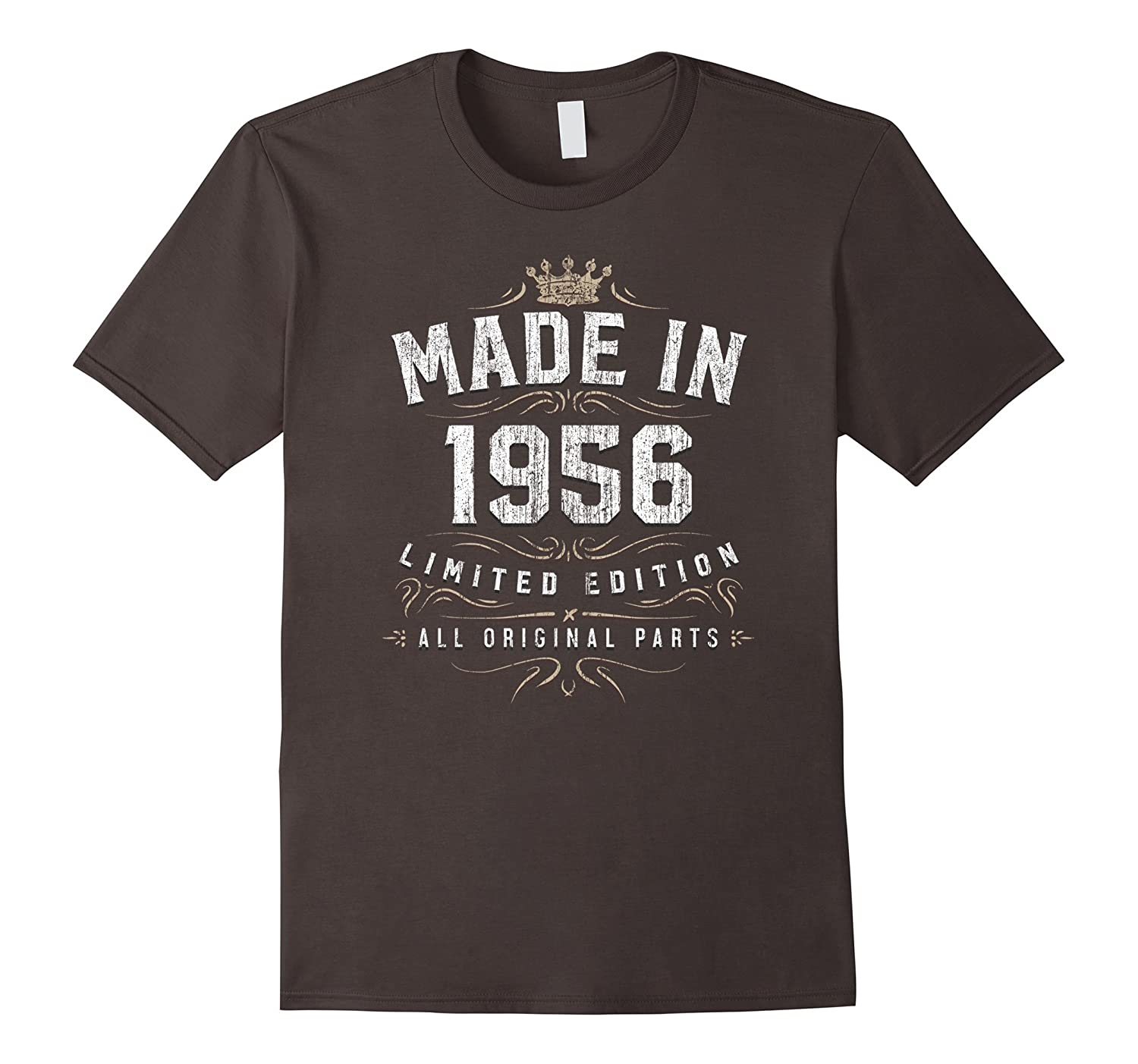 61st Birthday Gift Made In 1956 All Original Parts T-Shirt