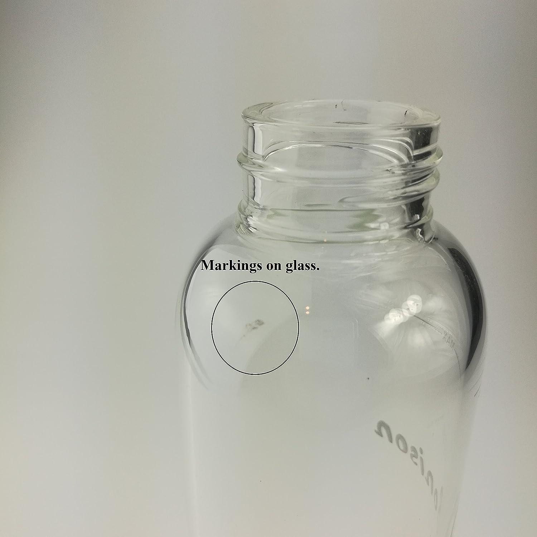 Amazon.com: Clearance – bonison, vidrio de borosilicato ...