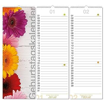 Calendario Zodiacale.1 Compleanno Del Calendario Xl I Dv 290 I 148 X 420 Mm I
