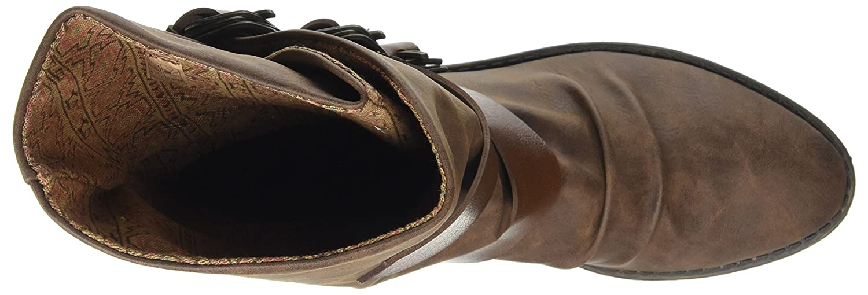 Blowfish Damen Stiefel, Alms Stiefel, Damen Schwarz Braun (Coffee/Whisky 259) 880301
