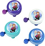 Widek Sonnette de vélo fille Disney La Reine des neiges Bell Couleurs, Assortiment, Medium