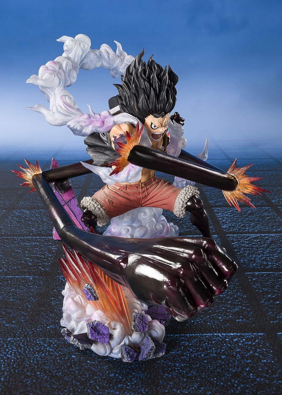 Bandai One Piece Figuarts zero Monkey D Luffy Gear 4 Snakeman King Cobra Figure