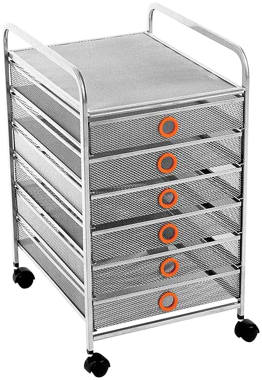 Design Ideas Digit 6 Drawer Cart-Mango 3419736