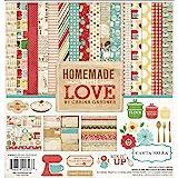 Echo Park Paper Company CB-HL23016 Homemade with Love kit Original Version, 12-x-12-Inch
