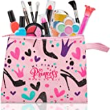 FoxPrint My First Princess Make Up Kit - 12 Pc Kids Makeup Set Washable Makeup For Girls These Makeup Toys for Girls Include