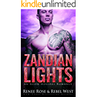 Zandian Lights: An Alien Holiday Romance (Zandian Brides) (English Edition)