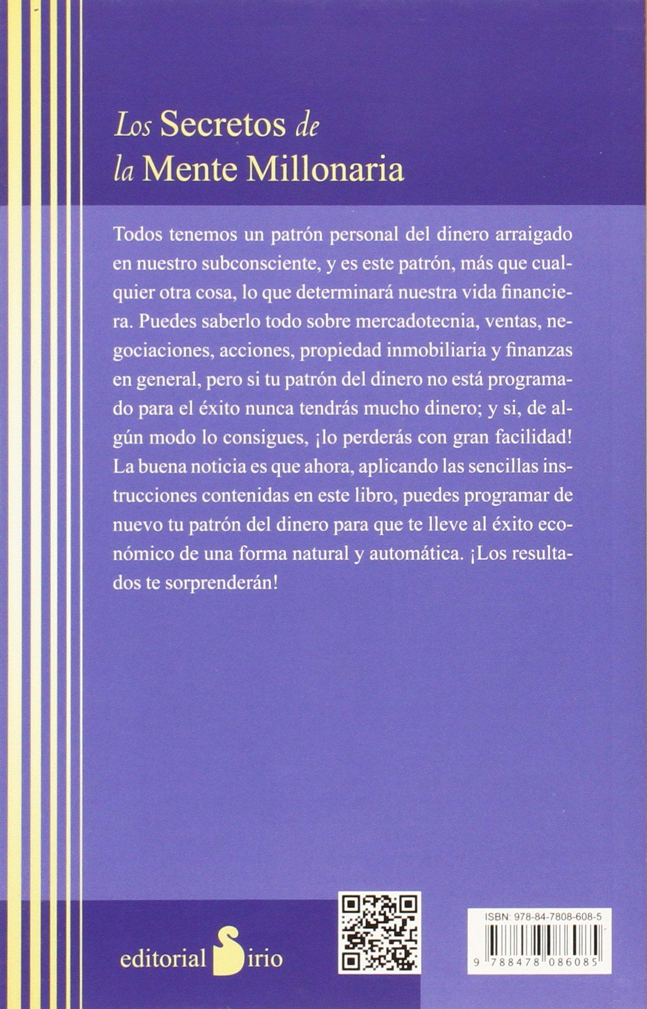 Los Secretos De La Mente Millonaria 2013 Spanish Edition 9788478086085 Eker T Harv Renau Bahima Anna Books