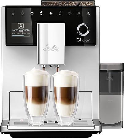 Melitta CI Touch F630-101, Cafetera Superautomática, Molinillo Silencioso, Café Personalizable, Pantalla Táctil TFT a Color, Plata: Amazon.es: Hogar