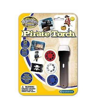 Brainstorm Toys E2058 - Linterna y proyector Pirata: Amazon.es ...