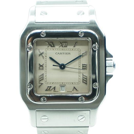 Cartier Santos Galbee Automatic-Self-Wind 1564 - Reloj de Pulsera para Mujer (