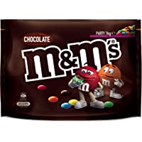 M&M's Milk Chocolate 1kg Party Size Bag (Packaging may vary)