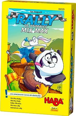 HABA- Juego de Mesa, Rally de Animales Mix MAX, Multicolor (Habermass H304329): Amazon.es: Juguetes y juegos