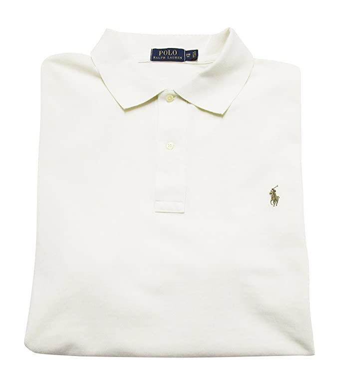 4069e427c Amazon.com  Polo Ralph Lauren Mens Classic Fit Big and Tall Mesh Polo Shirt   Polo RALPH LAUREN  Clothing