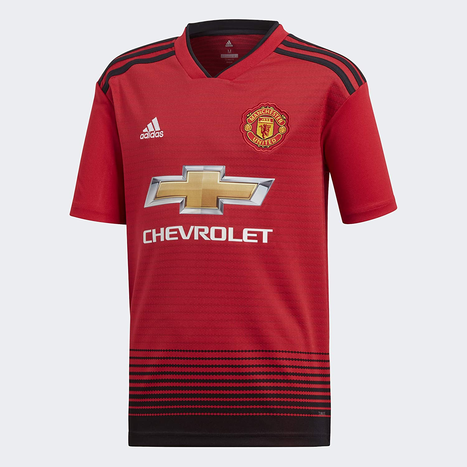 adidas Soccer Youth Manchester United FC Home Jersey