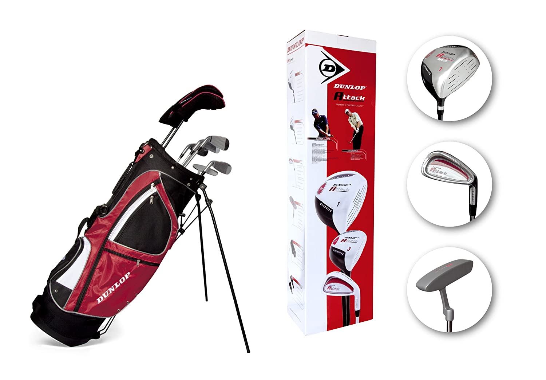 Dunlop DUNL095 - Set de golf de 10 piezas attack: Amazon.es ...