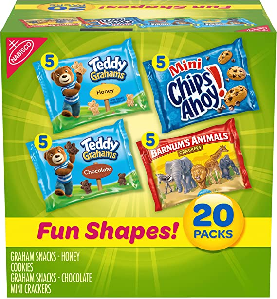 Nabisco Fun Shapes Cookie & Cracker Mix
