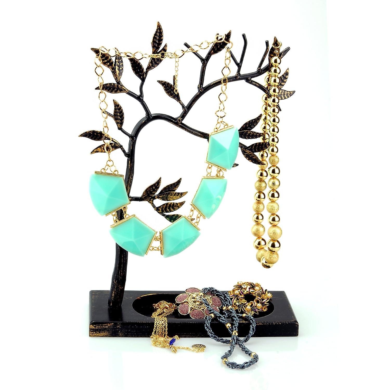 Amazoncom Geff House Jewelry Tree Organizer Display for Necklace
