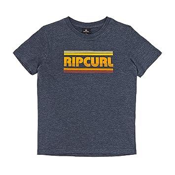 RIP CURL Big Mama Stripe SS tee Camiseta, Niños: Amazon.es: Deportes y aire libre