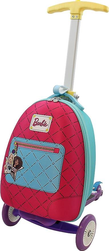 Amazon.com: Barbie Scooter de equipaje, Multi: Sports & Outdoors