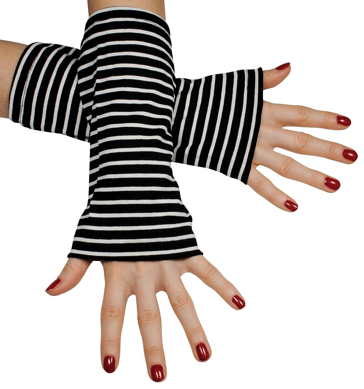 Immerschön farbenfrohe Armstulpen - Pulswärmer - handgearbeitet - jedes Teil ein Unikat as 2