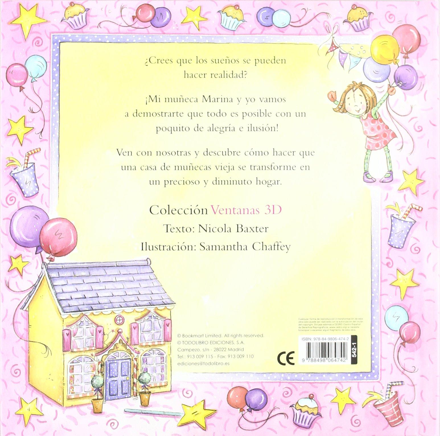 MI CASA DE MUÑECAS - VENTANAS 3D: AA.VV.: 9788498064742: Amazon.com: Books