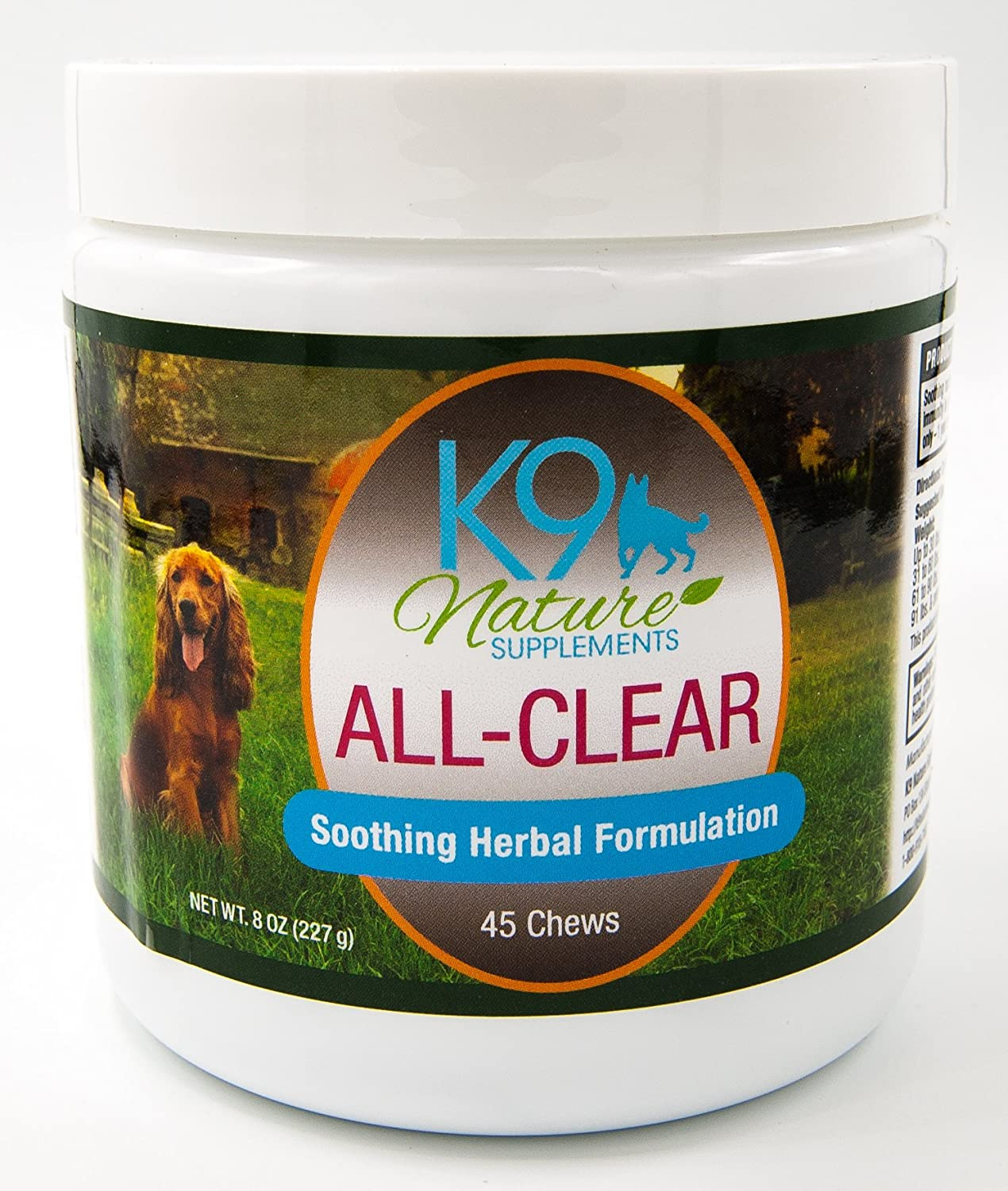 ALL-CLEAR Herbal Dog Allergy Supplement