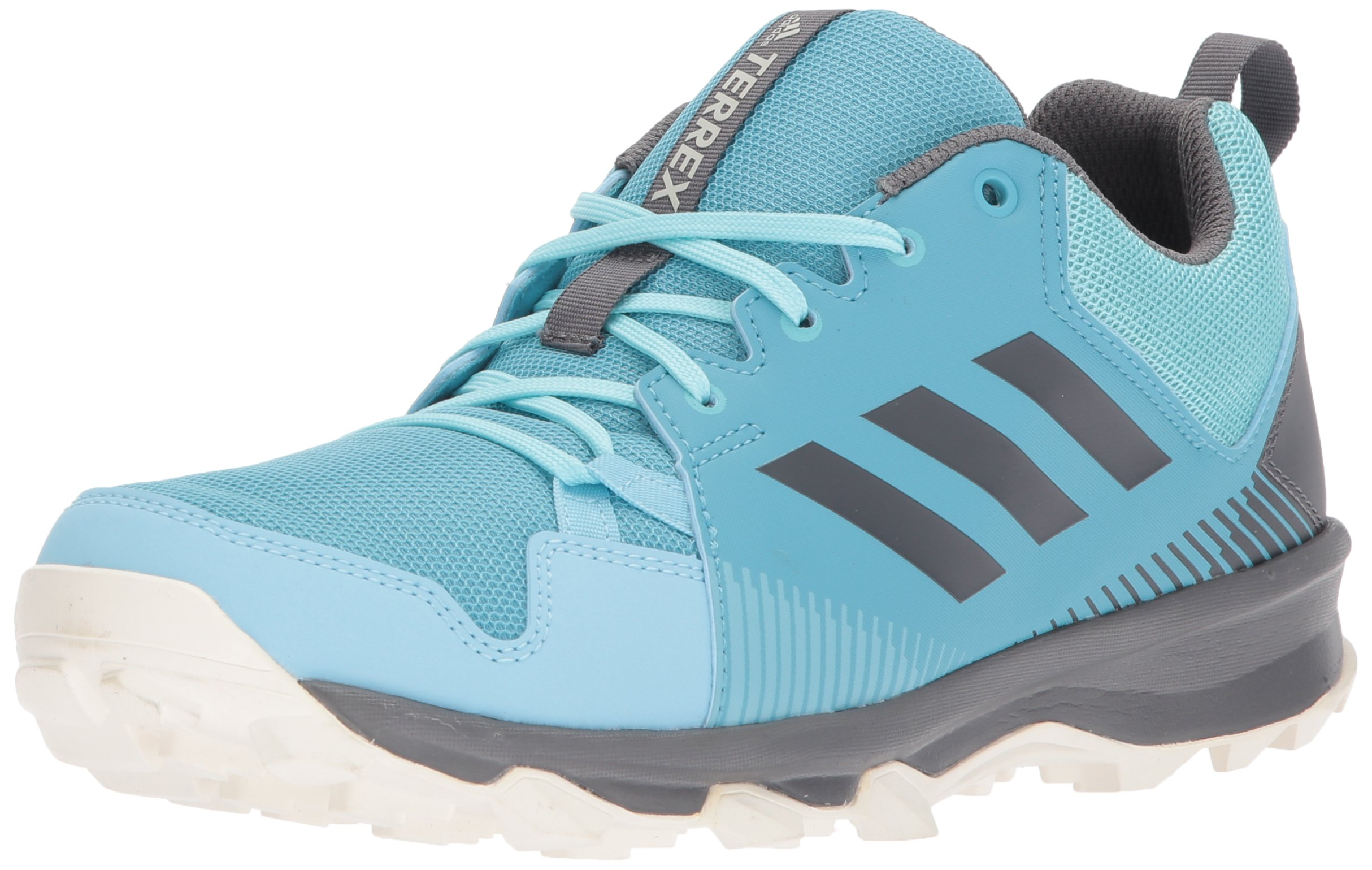 adidas outdoor Women's Terrex Tracerocker W Trail Running Shoe Vapour Grey Four/Icey Blue, 5 M US