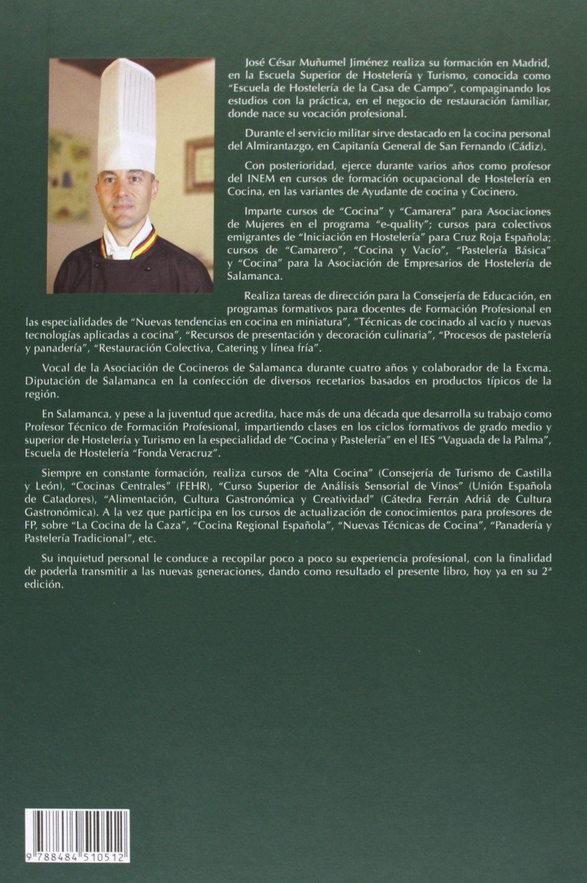 Fp Cocina Madrid   Cocina Preelaboracion Y Conservacion Hosteleria Amazon Es