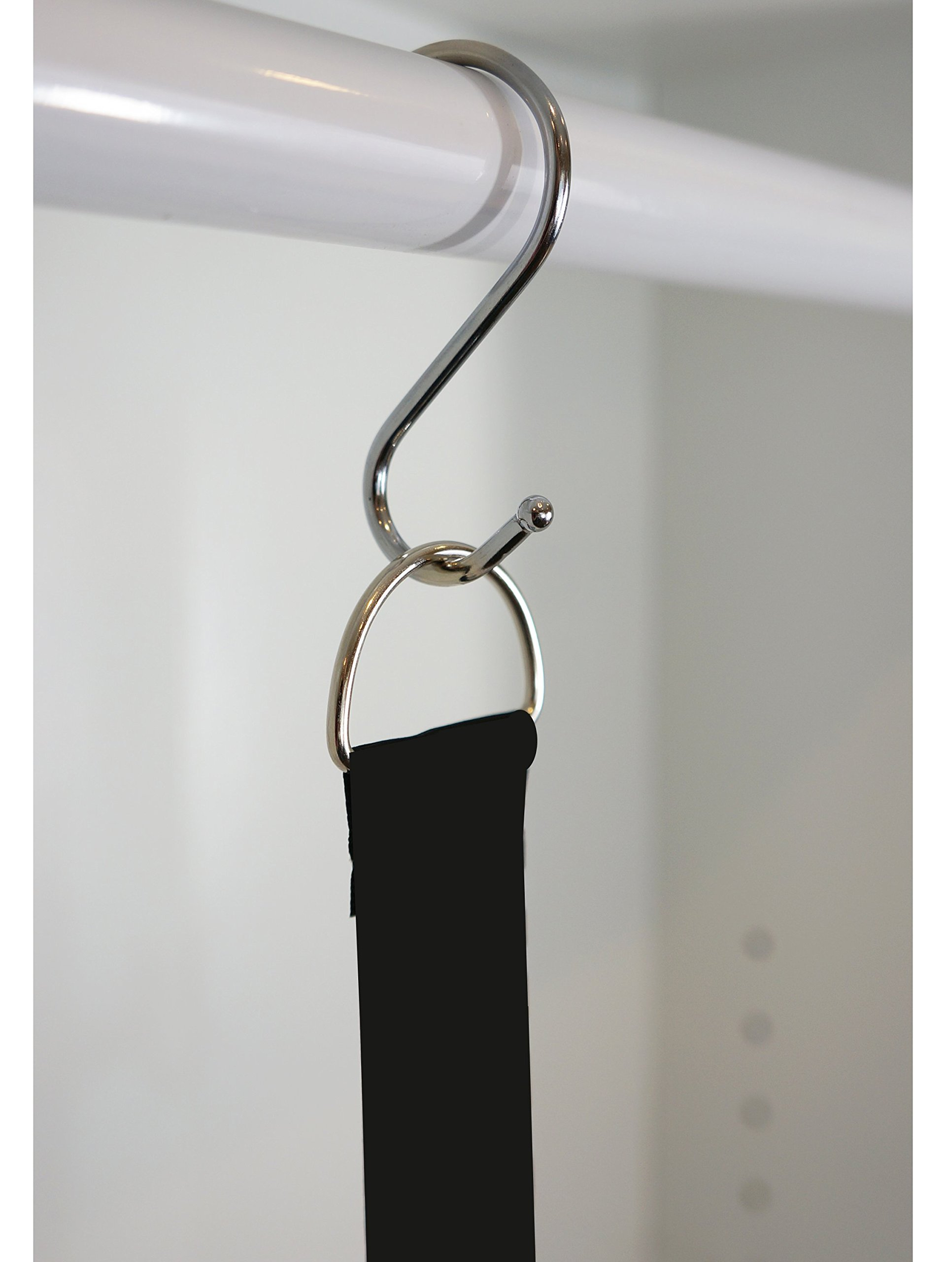 ADD-ON- SILVER HOOK ONLY (This is JUST the S-Hook for the Flip Flop and Sandal Hanger Holder By Boottique - Flip Flop Storage and Organization (Silver Hook)