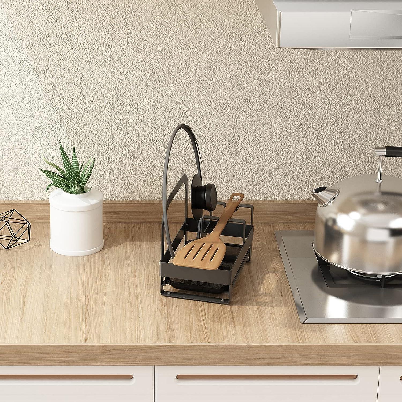 alpha-ene.co.jp Ladle Holder Lid Stand for Pot and Pan Kitchen Pot ...