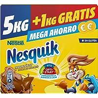 Nestlé Nesquik Cacao Soluble Instantáneo (sin gluten) - Estuche 5+1 kg