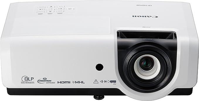 Opinión sobre Canon LV-HD420 - Proyector portátil (Full HD 1080p 1920 x 1080, tecnología DLP, 4200 lúmenes) Blanco