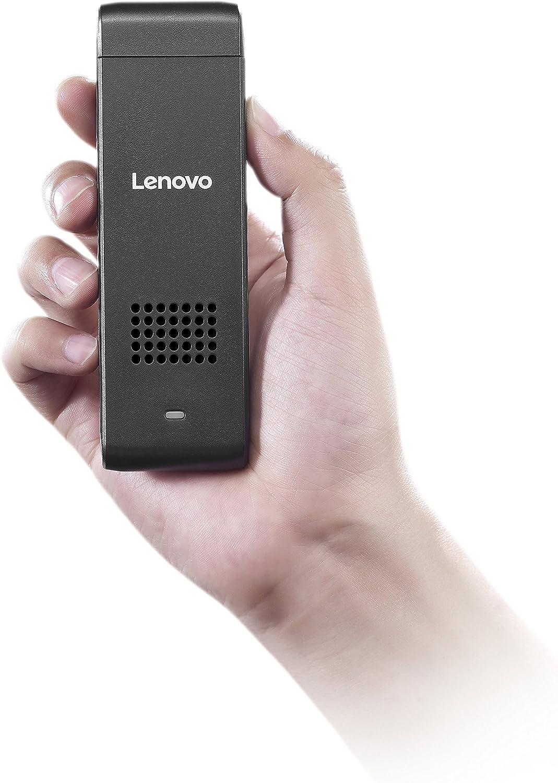 Lenovo Ideacentre Stick 300 PC Mini Desktop (Intel Atom Z3735F, 2 GB RAM, 32 GB HDD + 32 GB SSD, Windows 10) 90F2000CUS