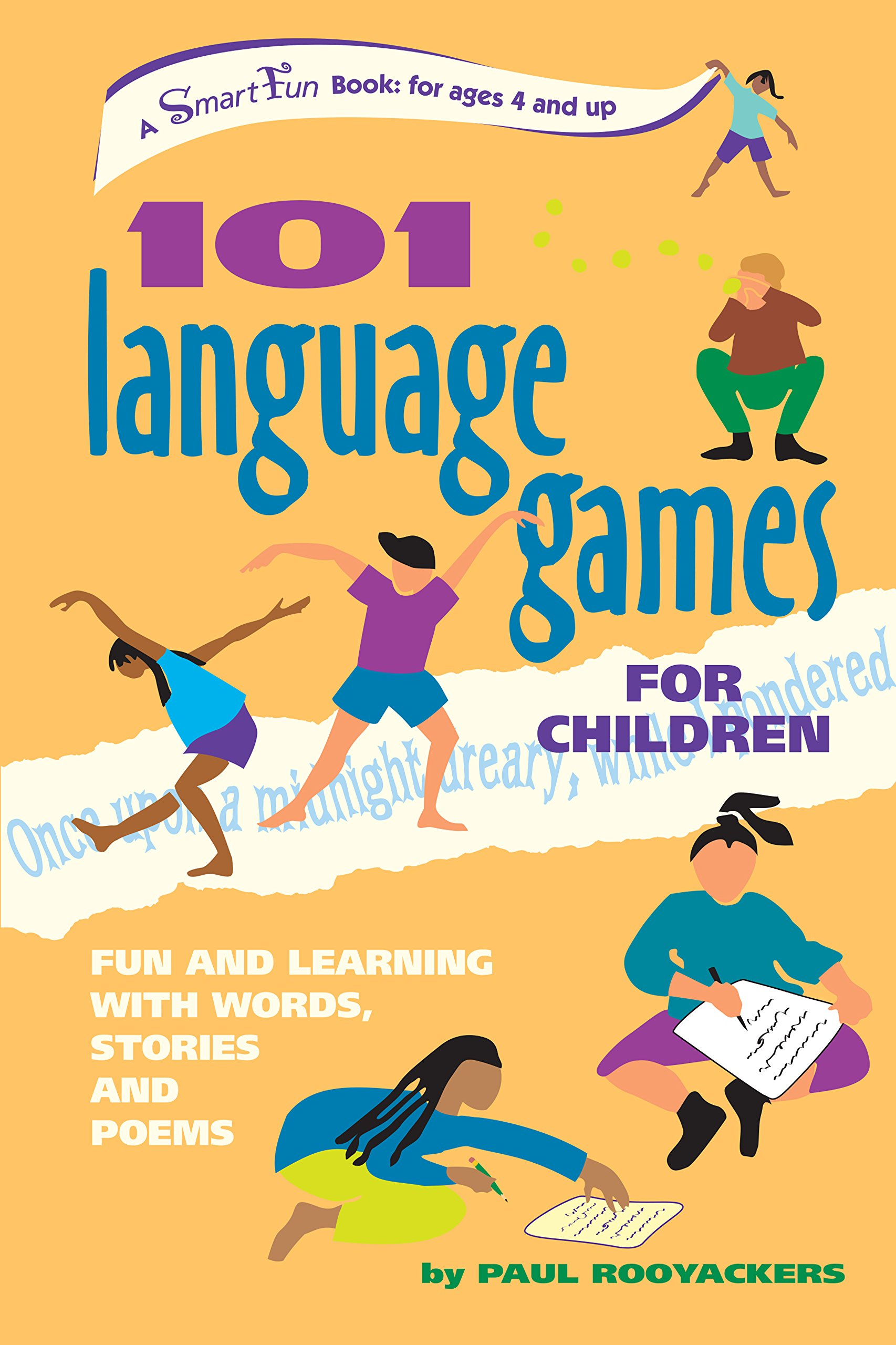 101 Language Games for Children: Fun and Learning with Words, Stories and Poems (SmartFun Activity Books) by Brand: Hunter House